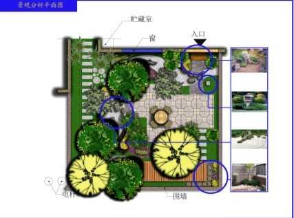 私家花园景观设计图纸