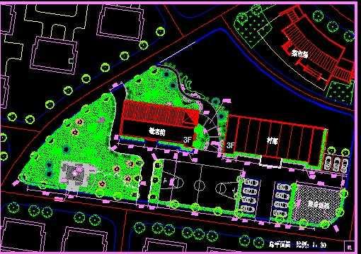 敬老院绿化设计图纸