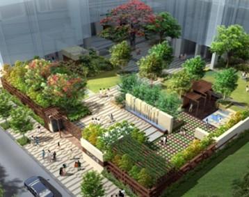 某建筑庭院景观方案设计文本