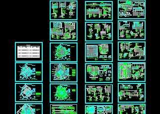 旱喷广场施工图