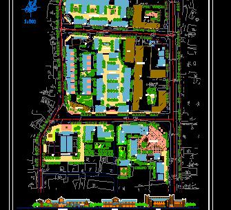 某镇建设规划设计图纸
