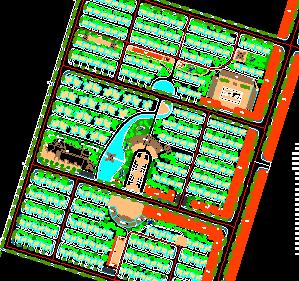 某中心村建设规划设计图纸