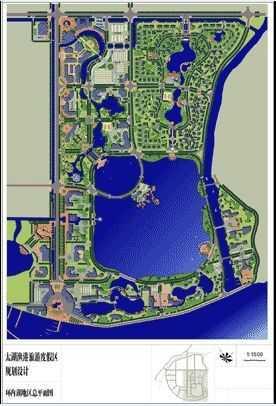 区景观设计平面图