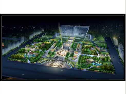 市政规划效果图 农家乐规划设计效果图 吊顶效果图 高清图片