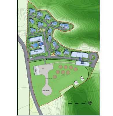 某直升飞机场规划建筑及景观方案