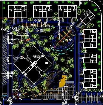 小区景观设计平面图