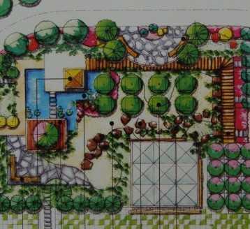 广场手绘图免费下载 园林景观效果图