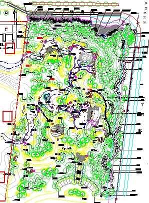 路口種植設計圖免費下載 - 園林景觀素材 - 土木工程網
