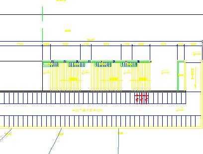 自行车停车位画法_自行车停车位平面图图片