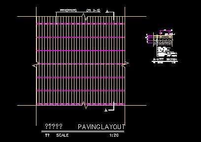木平台铺装做法详图