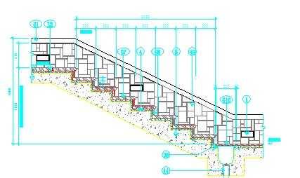 楼梯剖面大样图