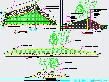 混凝土结构支模板图免费下载
