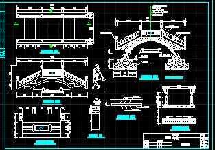 拱桥结构设计图免费下载