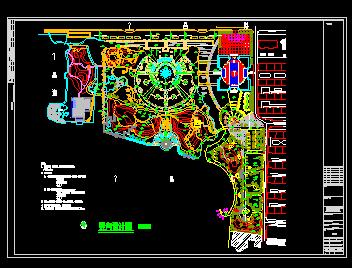 竖向设计图免费下载-角度及配套小品-土木工设施分布图如何绘制图片