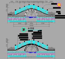 人行桥设计图纸