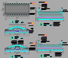 车行桥设计图纸