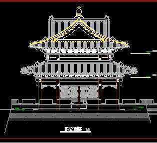 某寺庙cad图纸免费下载cad用标准件怎么图片