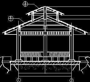 木亭结构施工图免费下载 园林建筑及相关图片