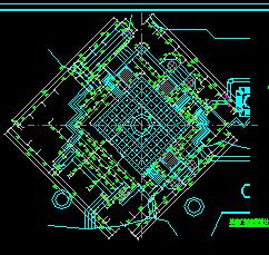一套旱喷广场建筑施工图纸
