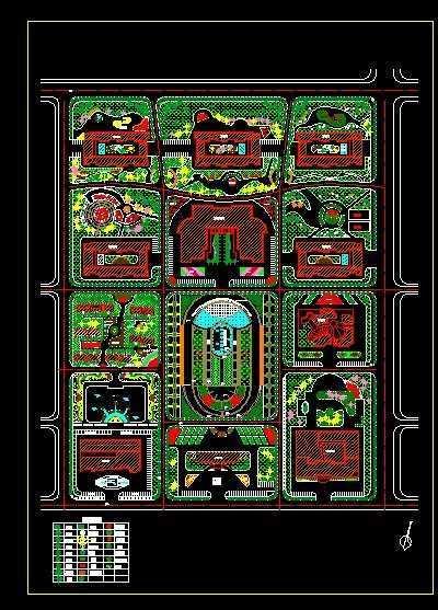 园林工程 园林图纸