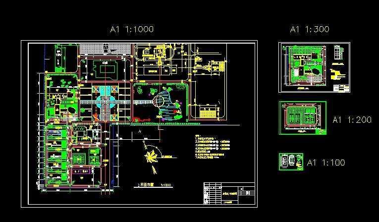 矿区修理绿化图纸免费下载1.12施工机器人图纸图片