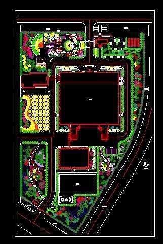 厂区环境设计图纸