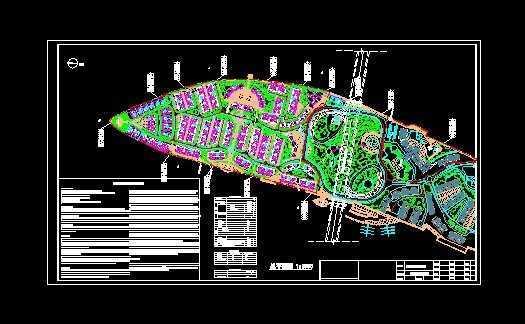 岛花园规划总平面图