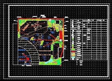 屋顶花园绿化布置平面图免费下载