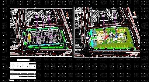 屋顶花园设计平面图