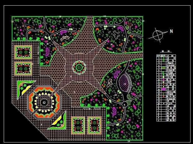 广场施工设计图免费下载-园林绿化及绿化-土木工程网怎么看室内设计图图片