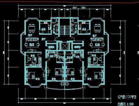 某居住区规划设计图