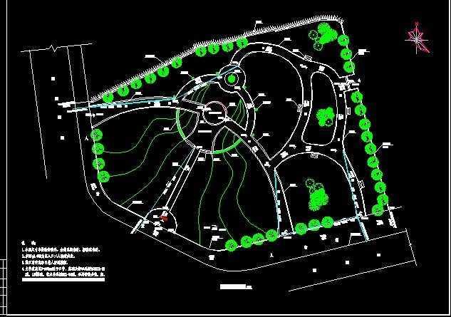 广场竖向设计排水免费下载cad设计图线室内图片