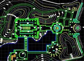 某别墅竖向设计图免费下载公园装修设计图大全图片