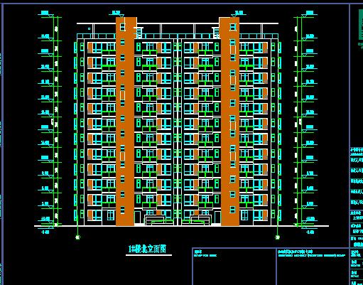 住宅小区建筑施工图纸