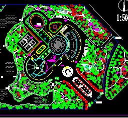 某公园景观绿化设计图纸