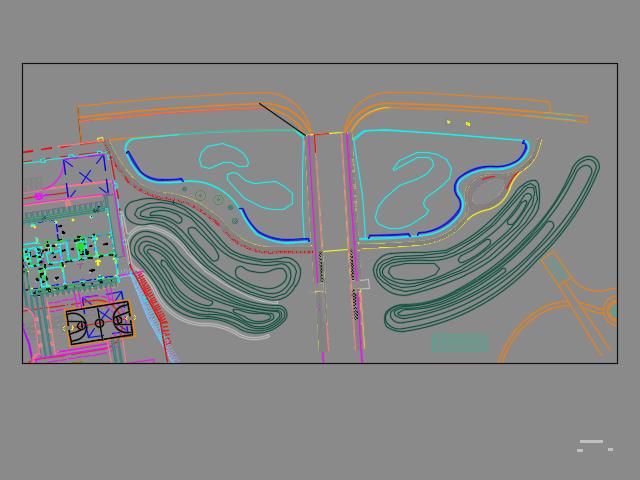 河道绿化景观改造施工图