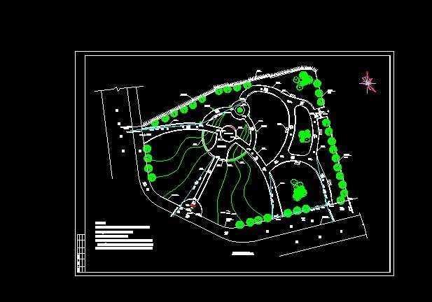 水电竖向设计排水免费下载-园林广场及建筑南昌博意相关设计院图片