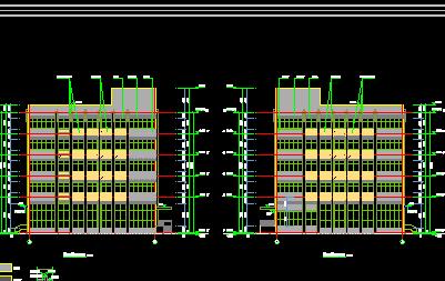 五层框架厂房工程量计算书(含钢筋工程量计算及图纸)