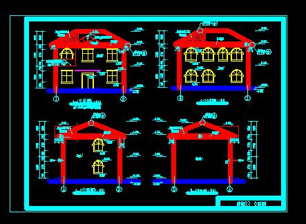 2层砖混住宅楼土建工程清单计价(含图纸)
