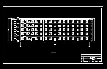 五层框架商住楼工程量计算(图纸)