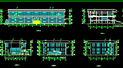 三层框架办公楼工程预算书(含全套CAD图、土建、安装、水电预算书)