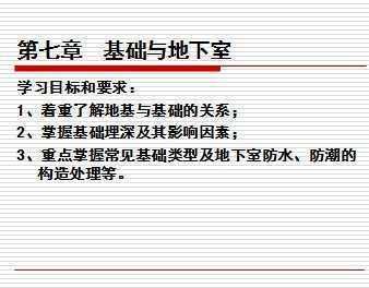 建筑识图与构造课件_【课件】建筑识图与房屋构造重庆大学出版社