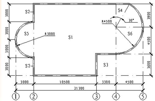 试计算建筑面积