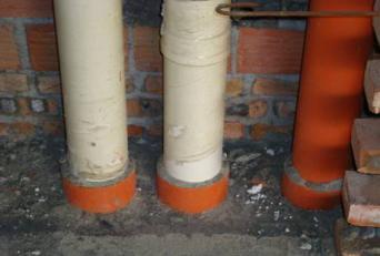 控制标准   UPVC排水立管在一次浇砼后进行蓄水试验   卫生间排水支