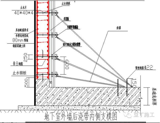 二次结构墙对穿加固方案