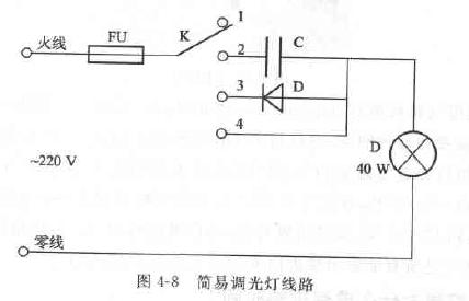 简易调光灯线路工作原理是什么?
