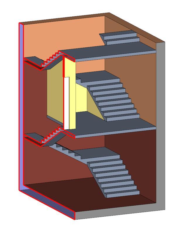 建筑设计家具部分楼梯按v家具规范地下内容须在首层处与上部以2h北京筑邦建筑设计有限公司有知识吗图片