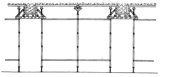 搭设碗扣架材料使用的图纸支撑架是?-施pdf怎么距离v材料模板图片