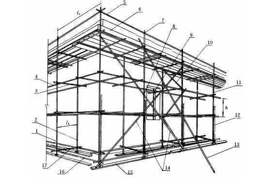 扣件式钢管脚手架基本构架形式有哪些? - 施工技术知识