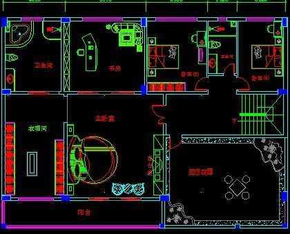 别墅平面布置图免费下载